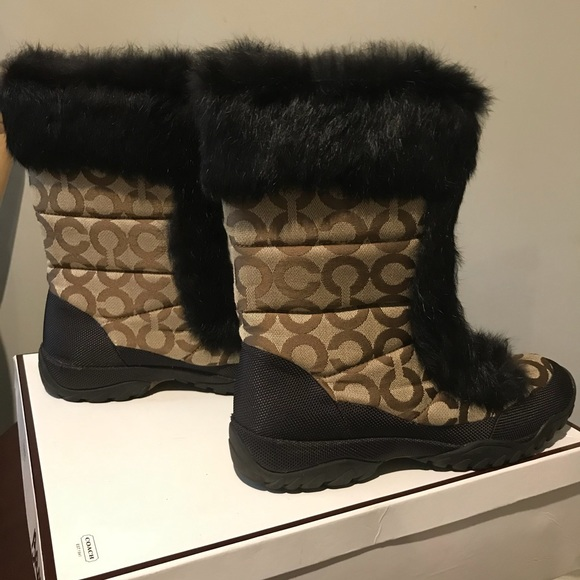 Coach Jennie Boot in Brown Size 8M